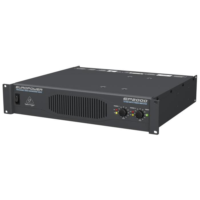 Behringer Europower Ep2000 Professional 2000-Watt Stereo Power Amplifier With Atr Technology