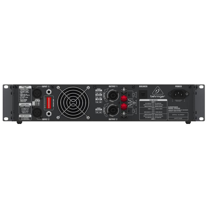 Behringer Europower Ep2000 Professional 2000-Watt Stereo Power Amplifier With Atr Technology - Red One Music