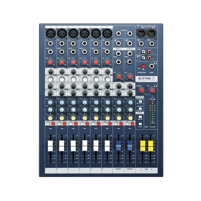 Soundcraft EPM 6 6-Channel Multi-Format Mixer - Red One Music