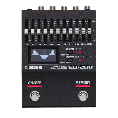 Boss EQ-200 Graphic Equalizer Pedal - Red One Music