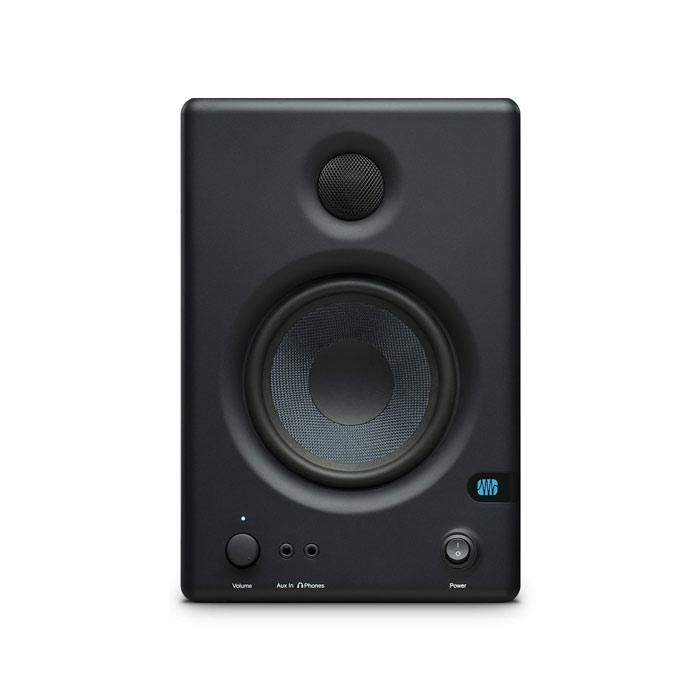 Presonus ERIS E4.5 Pair 4.5-Inch High-Definition Active Studio Monitor - Red One Music
