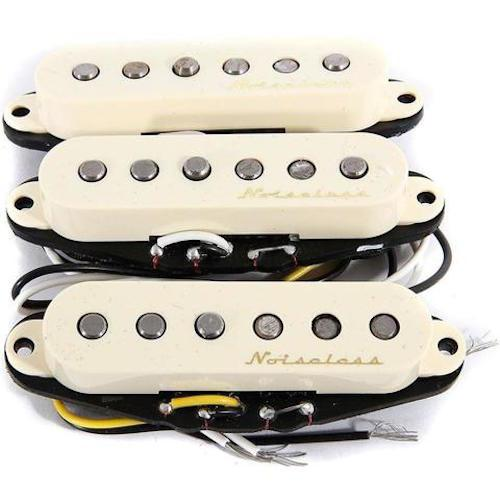 Fender 0992105000 Hot Noiseless Trade Strat Reg Pickups - Red One Music