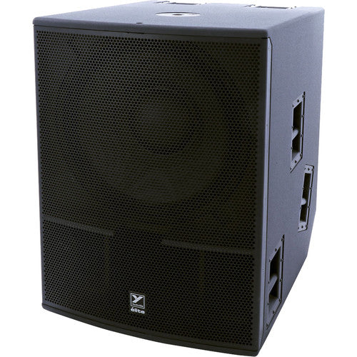 "Yorkville Sound ES21P Elite Series 21"" 2400W Powered Subwoofer with Bluetooth Control"
