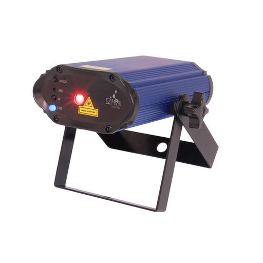 CHAUVET EZ MIN LASER RBX EZ MINTRADE LASER RBX IS AN ULTRA-COMPACT PORTABLE BATTERY-OPERATED