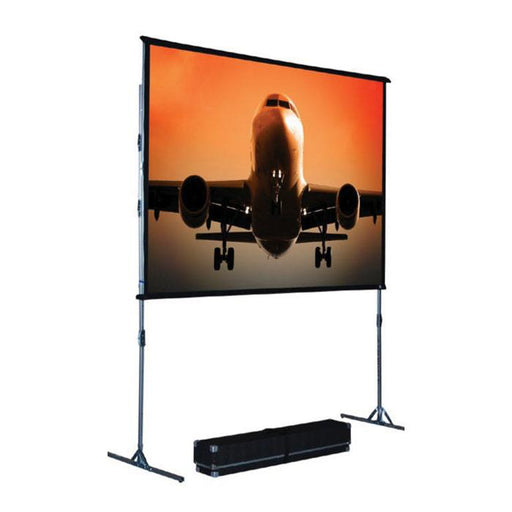 The Screen Works Ezii5X7C 5X7 Foot Ez-Fold Single-Tube Screen