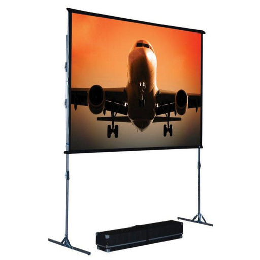 THE SCREEN WORKS EZII6X8C 6X8 FOOT EZ-FOLD SINGLE-TUBE SCREEN