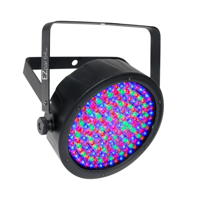 Chauvet Ezpar64-Rgba-B Battery Powered Wash Light - Black - Red One Music