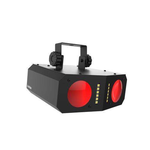 Chauvet Duo-Moon Strobe And Moonflower Effect Light - Red One Music