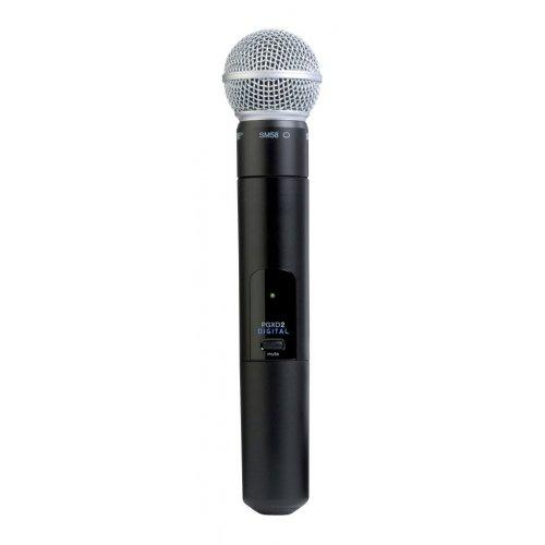 Shure Pgxd2/Sm86-X8 Handheld Wireless Transmitter - Red One Music