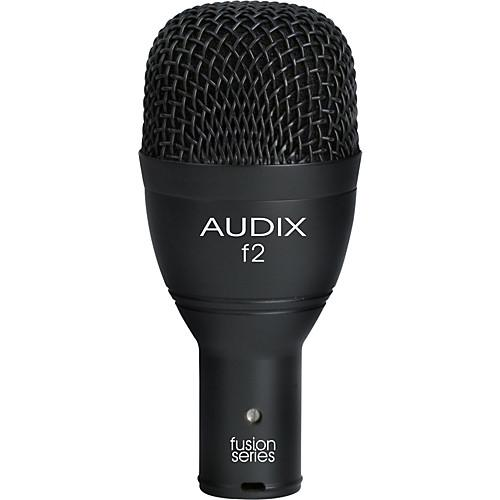 Microphone Audix F2 Dynamic Hypercardioid Instrument - Red One Music