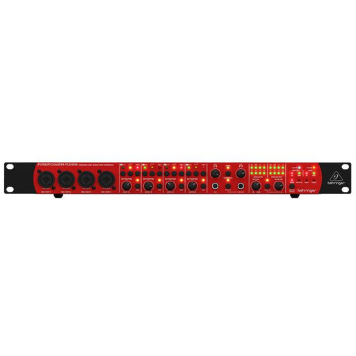 Behringer  FCA1616 Audiophile 16 In16 Out 24-Bit96 Khz Firewireusb Audiomidi Interface With Adat And Midas Preamplifiers - Red One Music