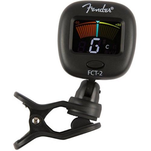 Fender 0239979000 Clip-On Color Chromatic Tuner Pro