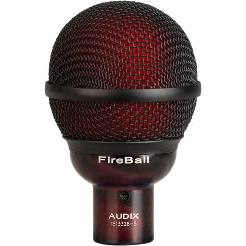Audix Fireball Instrument Microphone - Red One Music