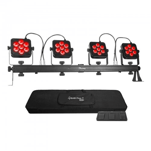 Chauvet 4Bar Flex T Usb  Upgraded Version Of The Popular 4Bar Tri Usb Increases Flexibility