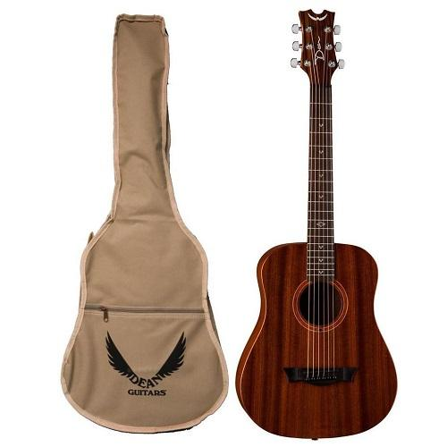 Dean Fly Mah Mahogany Travel Acoustic Guitar