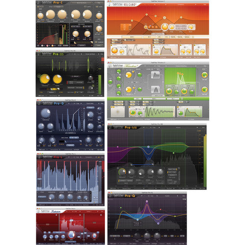 Fabfilter FX Bundle - 10 Plug-Ins (Download) - Red One Music