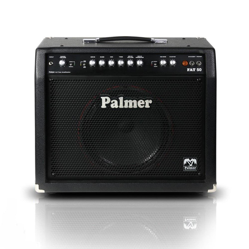 Palmer Pfat50 Tube Guitar Combo 50 W - Red One Music