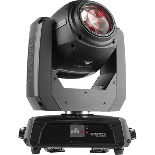 Chauvet Intimidator Beam 140 Sr Cutting-Edge Moving Head Beam Fitted With An Intense 140 W Discharge Light Engine - Red One Music