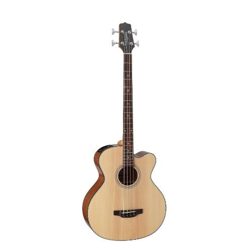 Takamine Gb30Ce-Nat Acoustic Electric Bass Guitar Natural