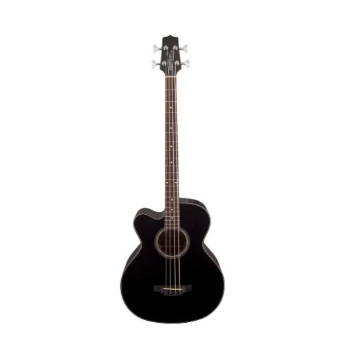 Takamine Gb30Celh-Blk Left Handed Acoustic Electric Bass Guitar Black
