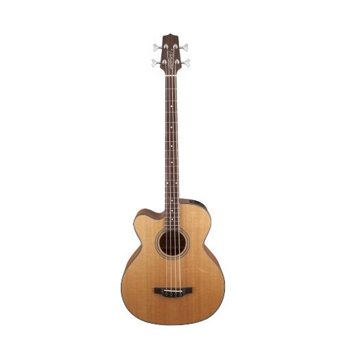 Takamine Gb30Celh-Nat Left Handed Acoustic Electric Bass Guitar Natural