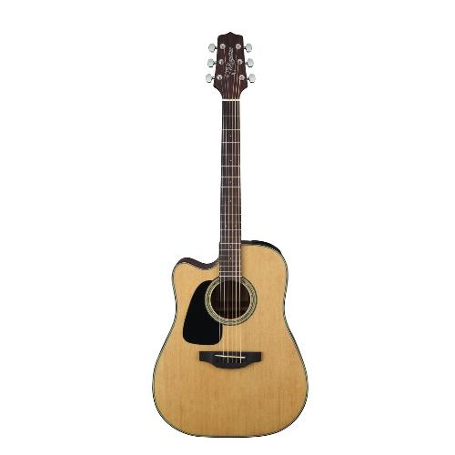 Takamine Gd10Celh-Ns  Left Handed Dreadnought Acoustic Electric Guitar - Red One Music