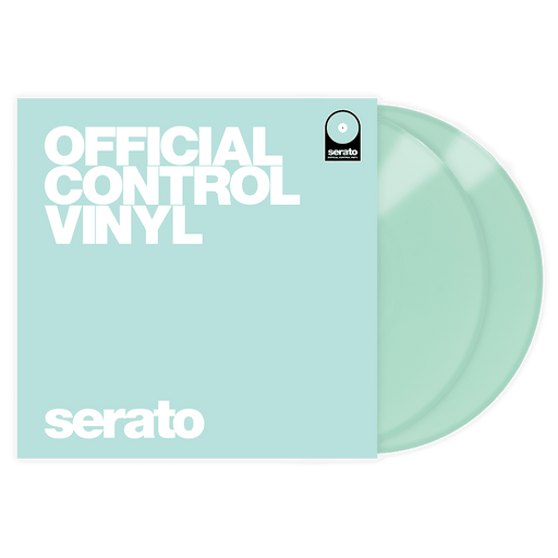 "Serato Performance Series 12 ""Control Vinyl vinyl-glow-in-dark (Pair) - Red One Music"
