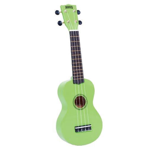 Mahalo Mr1-Gn Soprano Ukulele W/ Bag Rainbow Series - Green - Red One Music
