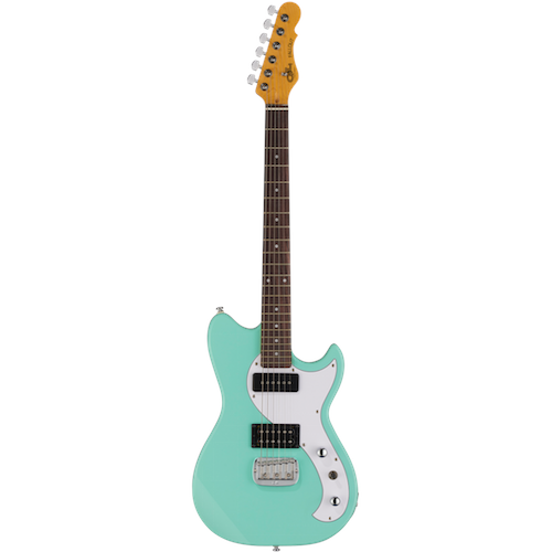 G&L FALLOUT Mint Green - Red One Music