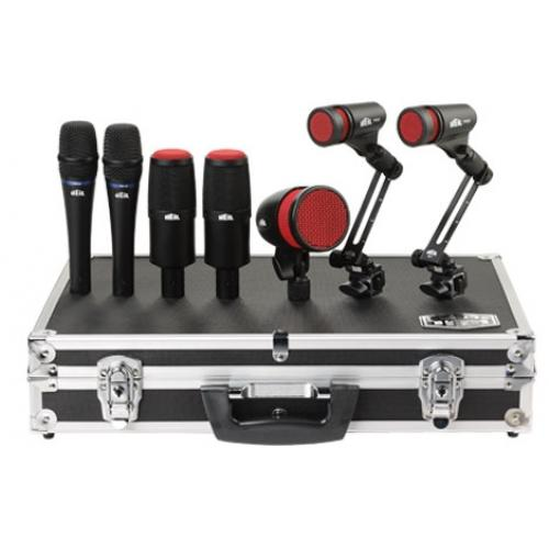 Heil Sound Hdk-7  Drum Mic Kit - Red One Music
