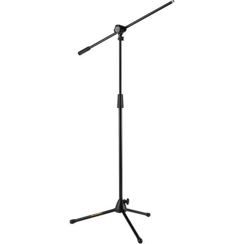 Hercules Ms432B Quick Turn Tripod Microphone Stand W2 In 1 Boom - Red One Music