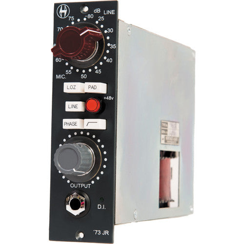 Heritage Audio HA73JR '73 Junior API 500 Series Microphone Preamplifier Module - Red One Music