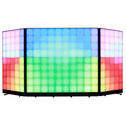 ODYSSEY HLFXF3P1 THREE PANEL HEADLINER FX LED FACADE - Red One Music