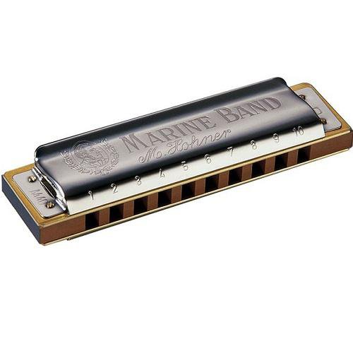 Hohner 1896Bx-Bf Marine Band  1896 Classic Harmonica In Bb Key