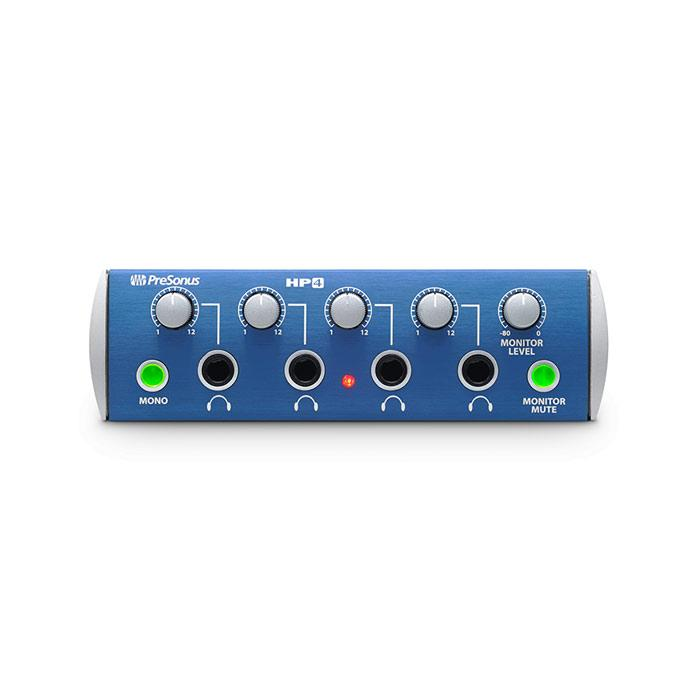 Presonus HP4 4-Channel Headphone Distribution System - Red One Music