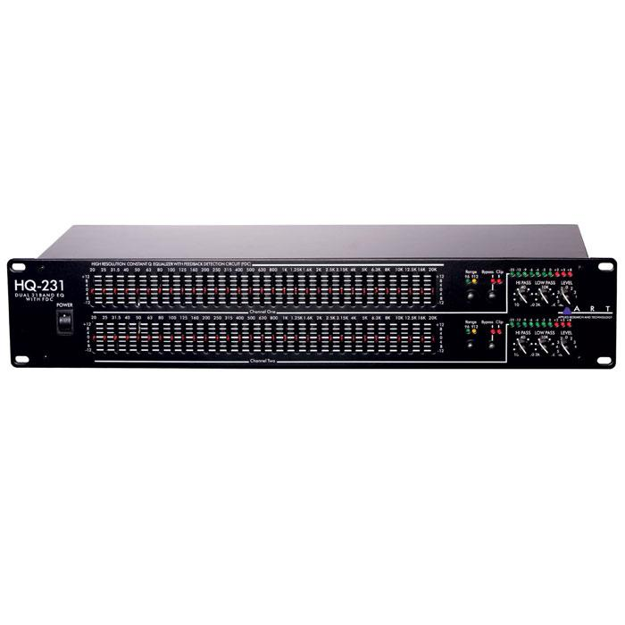 Art Hq231 Pro Dual 31 Band Eq W Fdctrade - Red One Music
