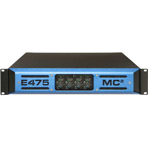MC2 Audio E4-75 E-Series Lightweight, High-Power Touring Amplifiers - Red One Music