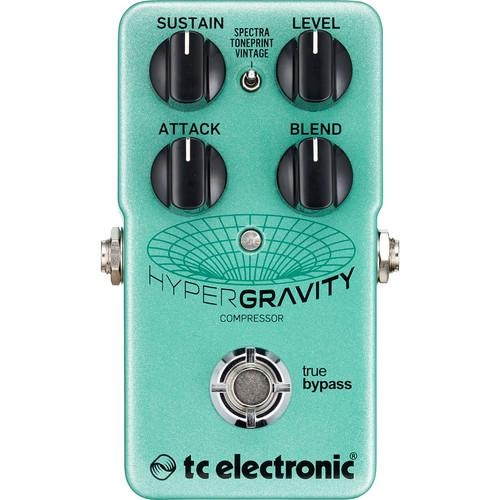 Tc Electronic Hypergravity Compressor Compressor Pedal - Red One Music