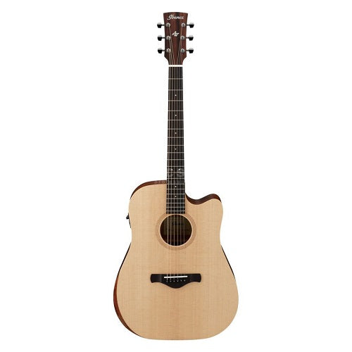 Ibanez Aw150Ce-Opn Artwood Solid Sitka Spruce, Okume, Ibanez Aeq/Tp2 & Tuner-Open Pore