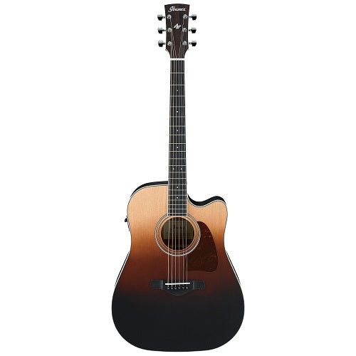 Ibanez Aw80Ce-Blg Aw Solid Sitka Spruce, Okume , Ibanez Aeq/Tp2-Brown Ale Gradation
