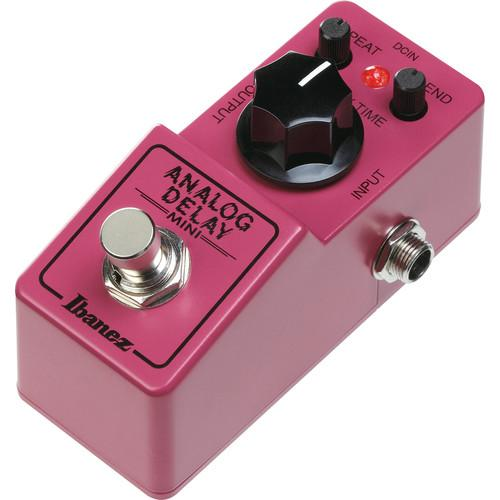 Ibanez Ad Mini Delay Pedal - Red One Music