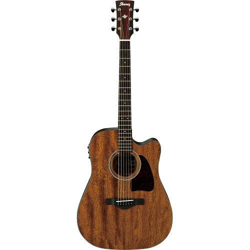 Ibanez Aw54Ce-Opn Artwood Acoustic Guitar-Open Pore - Red One Music