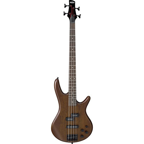 Ibanez Gsr200B-Wnf Gio 4 String Electric Bass-Okoumé Body-Walnut Flat