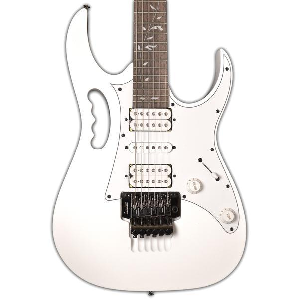 Ibanez JEMJR-WH Steve Vai Signature 6 Strings Electric Guitar In White - Red One Music