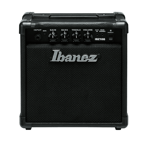 Ibanez Ibz10G-N Guitar Combo Amp 10W - Red One Music