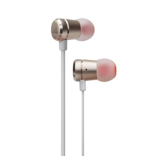 JBL T290 Champagne Gold In-Ear Headphones - Red One Music