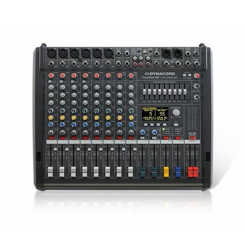 Dynacord Powermate 600-3 In-Stock 8-Channel Compact Power-Mixer