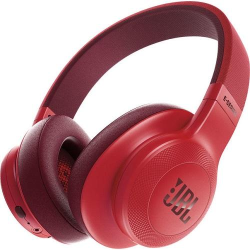 JBL JBLE45BTRED ON-EAR WIRELESS HEADPHONES WITH MIC - RED