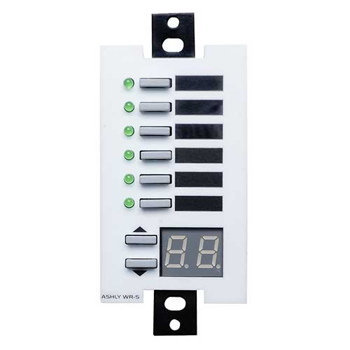 Ashly Wr-5 Programmable Mulit-Function Wall Plate Remote (Decora Style)