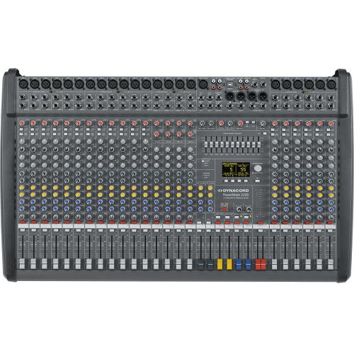Dynacord Powermate 2200-3 In-Stock 22-Channel Compact Power-Mixer - Red One Music
